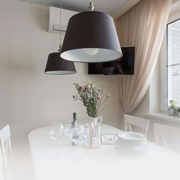 Большая квартира для семьи на «Нагатинской» с кабинетом и лимонной ванной