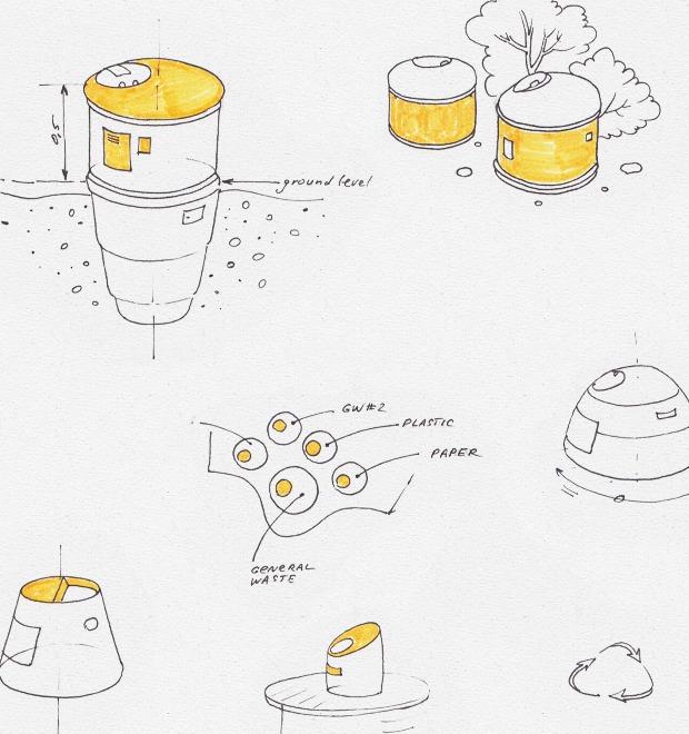 Идеи для города: Системы подземного сбора мусора — Иностранный опыт на The Village