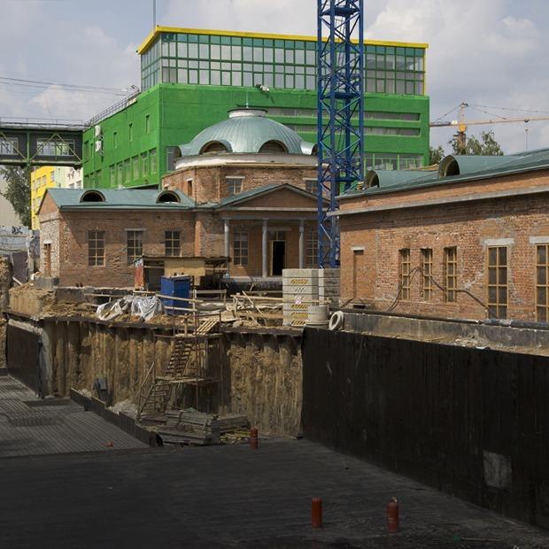 Как разрушенный госпиталь на ВИЗе превращают в деловой центр — Индустрия на The Village