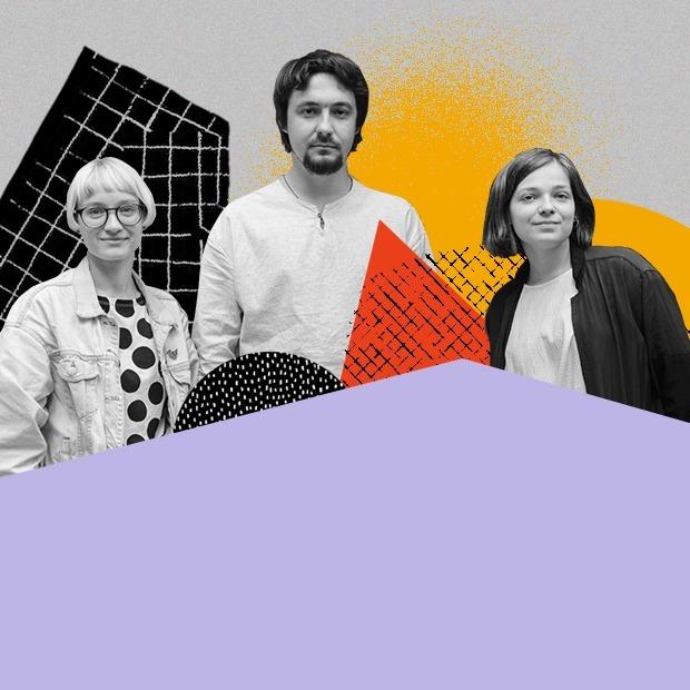 Сергей, Наташа и Поля, команда независимого детского книжного «Маршак» — Горожане на The Village