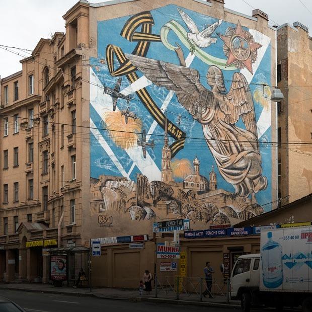 Казус Лизетты: Как Петроградская сторона стала галереей паблик-арта — Город на The Village