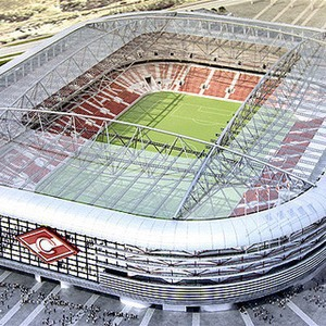 Стадион в Тушине откроется в 2014 году
