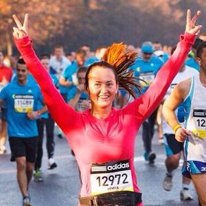 Московский марафон в снимках Instagram — Галереи на The Village