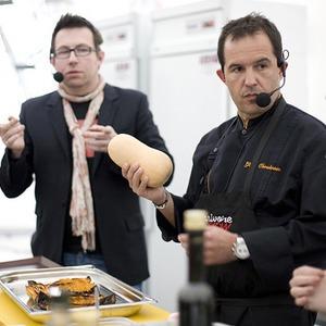 Omnivore Food Festival: Жиль Шукрун готовит «краба под землей» — Рецепты шефов на The Village