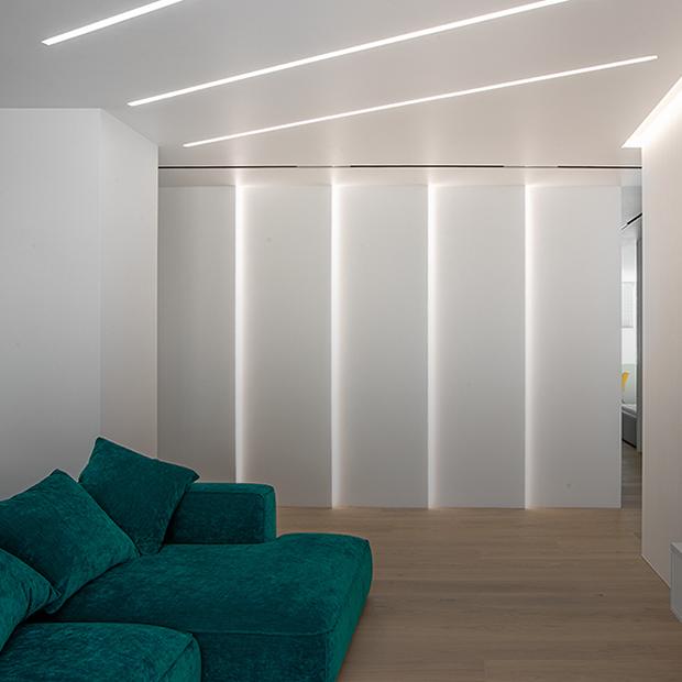 Квартира недели. Эффектное освещение и инженерные решения в просторной квартире на Автовокзале