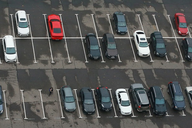 Где проще найти бесплатную парковку? — Простые числа на The Village