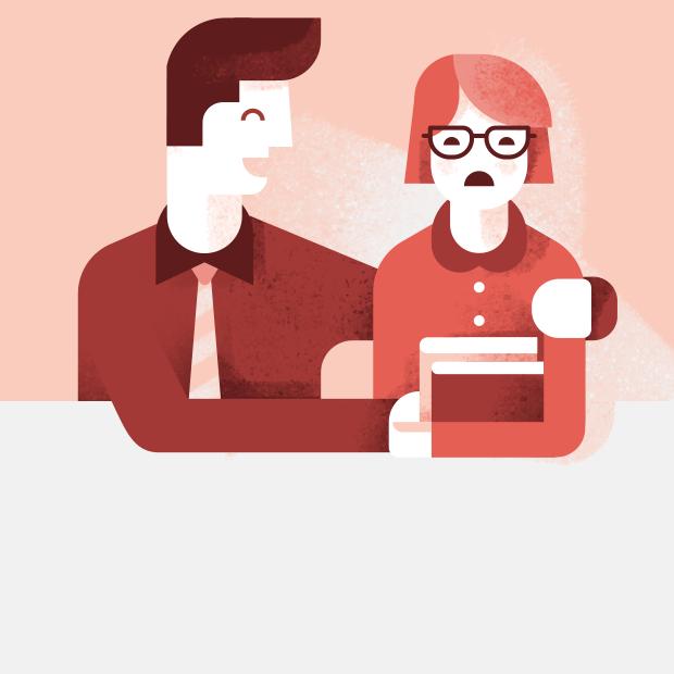 Как реагировать на приставания начальника? — Этика на The Village