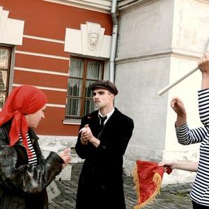 Ленин — гид: Экскурсия по советской Москве — Люди в городе на The Village