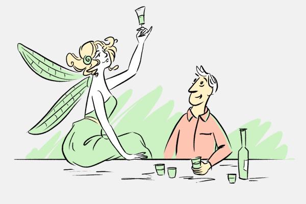 Сколько абсента нужно выпить, чтобы увидеть фею? — Есть вопрос на The Village