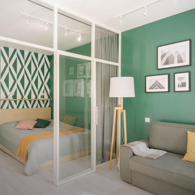 Светлый скандинавский интерьер для двоих на 32 квадратных метрах  — Квартира недели на The Village