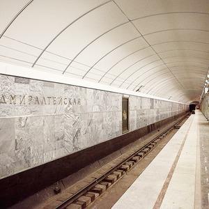 Фоторепортаж: Станция метро «Адмиралтейская» изнутри — Фоторепортаж на The Village