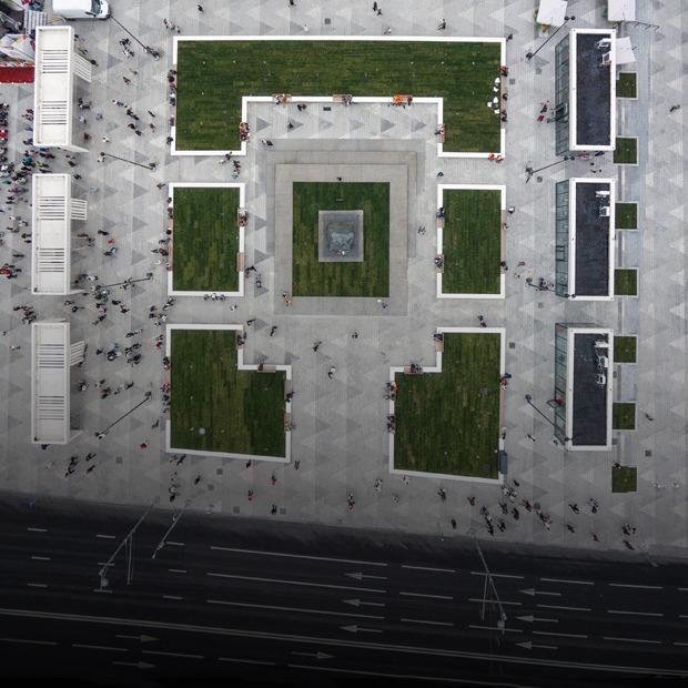 Не место для дискуссий: Триумфальная площадь после реконструкции — Город на The Village