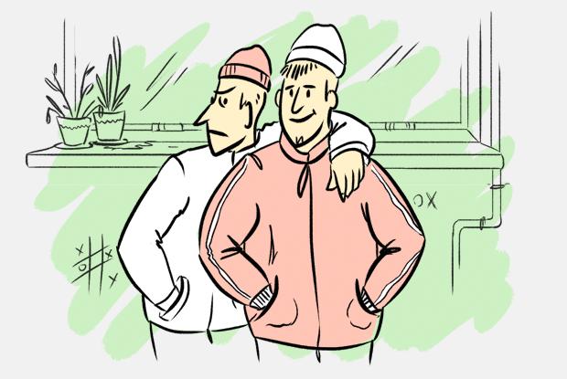 Почему гопники носят шапки выше ушей?
