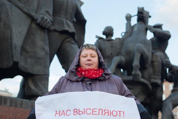 «Они захватили наш дом»: Почему бюджетники перекрыли Тверскую  — Люди в городе на The Village