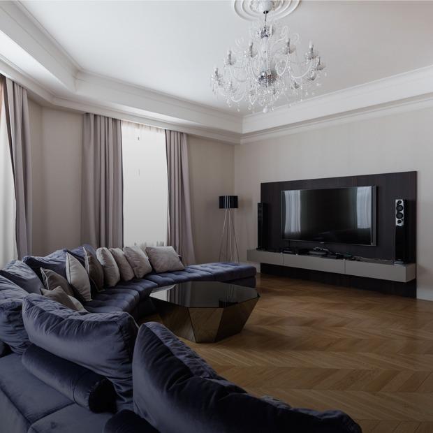 Большая квартира со светской гостиной в Толстовском доме (Петербург) — Квартира недели на The Village