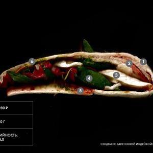 Составные части: Сэндвич с запеченной индейкой и сыром бри из «Филиала» — Составные части на The Village