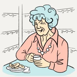Почему бабушки красят волосы в фиолетовый цвет? — Есть вопрос на The Village