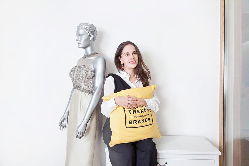 Рабочий стол: Анастасия Сартан, Trends Brands — Как это работает на The Village
