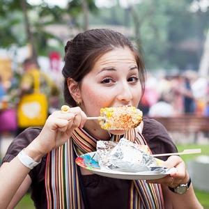 Люди в городе: Посетители фестиваля «Праздник Еды» — Люди в городе на The Village