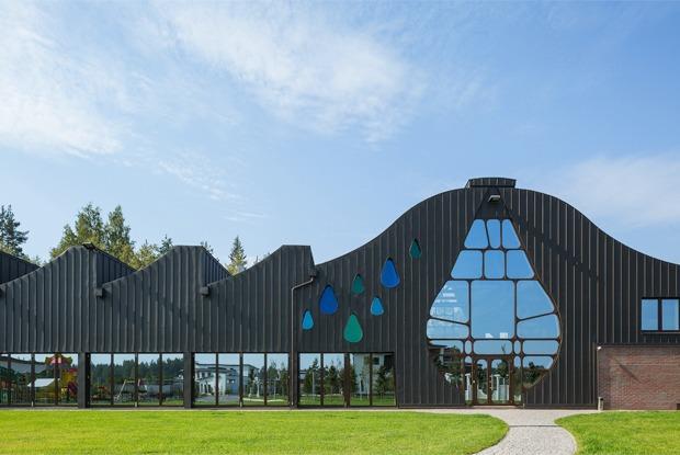 Как выглядит арт-объект Waves — первый дом по проекту Гаэтано Пеше в России — Фоторепортаж на The Village