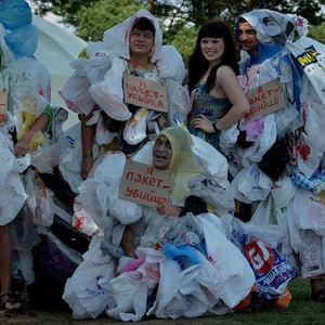 В Москве пройдёт флешмоб против пластика — Ситуация на The Village