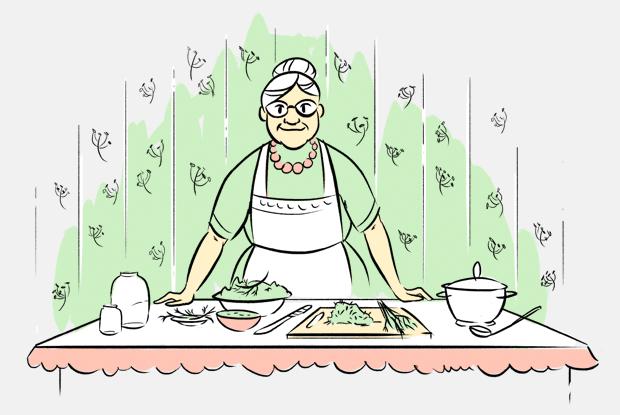 Почему в России во все блюда добавляют укроп? — Есть вопрос на The Village