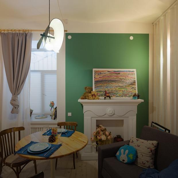Студия в маленьком флигеле на Невском проспекте — Квартира недели на The Village