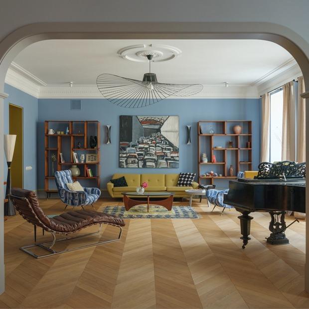 Квартира для антиквара на улице Рубинштейна — Квартира недели на The Village