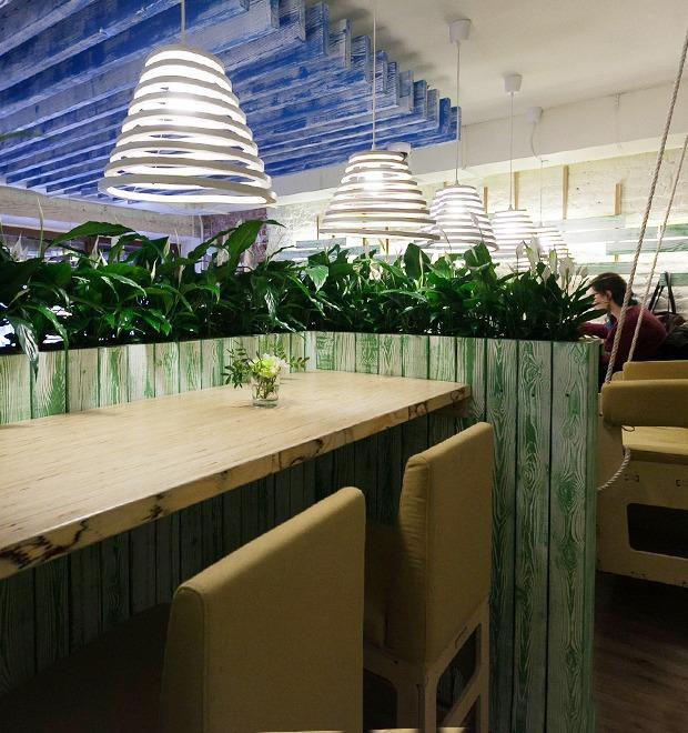 Новое место: Кафе «Укроп» на Малой Конюшенной  — Новое место на The Village