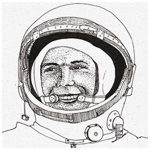 День космонавтики — Клуб рисовальщиков на The Village