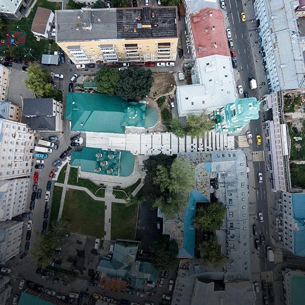 Черниговский переулок:  Как устроено новое общественное пространство в Замоскворечье — Город на The Village