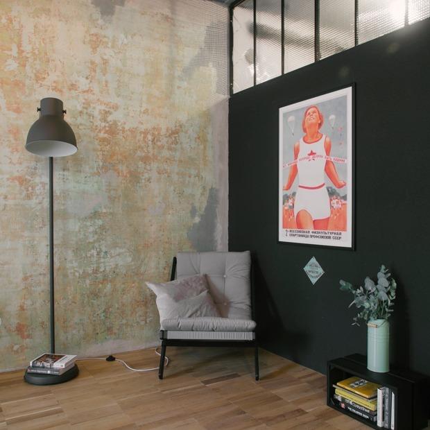 Лофт в сталинском доме с элементами советского дизайна
