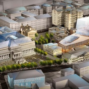 Пушкинский музей: Проект реконструкции — Инфраструктура на The Village