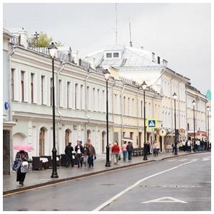 Обновлённые улицы Покровка и Маросейка — Фоторепортаж на The Village