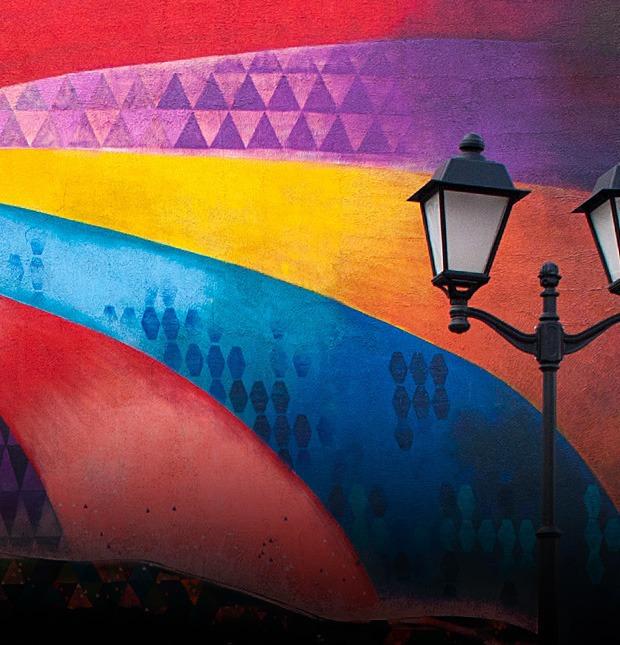 «Я не вижу доброты в их оскалах»: Что думают горожане о московском стрит-арте