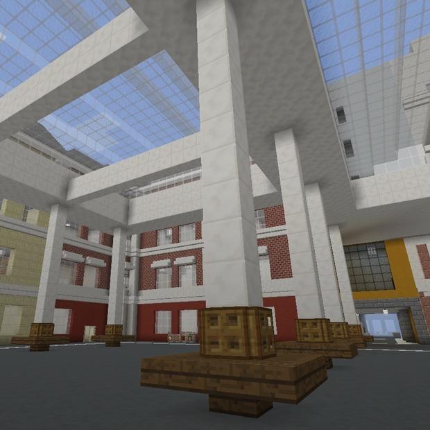В Minecraft открыли копию кампуса ВШЭ. Вот как он выглядит — Галерея на The Village