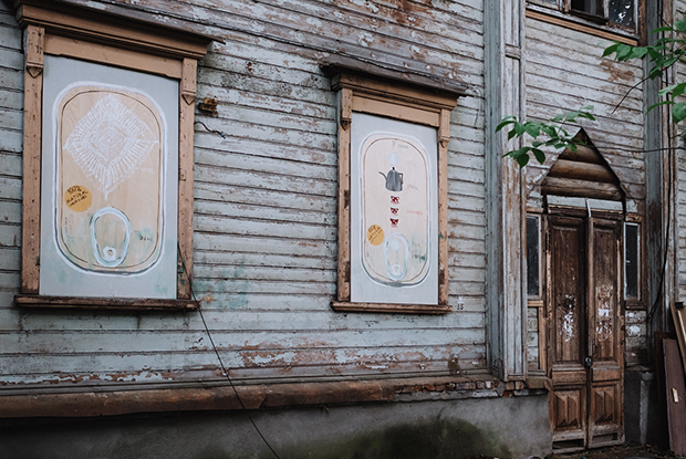 Маршрут по деревянной архитектуре и новому стрит-арту / Wooden Architecture and Street Art — Маршруты по Нижнему на The Village