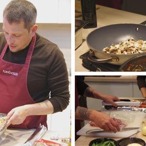 Время есть: Репортаж с мастер-класса Айзека Корреа на редакционной кухне журнала «ХлебСоль» — Кухня на The Village