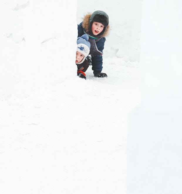 Ледяной лабиринт на ВВЦ — Галереи на The Village