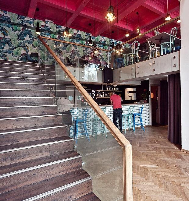 Новое место (Петербург): Geometria Café — Новое место на The Village