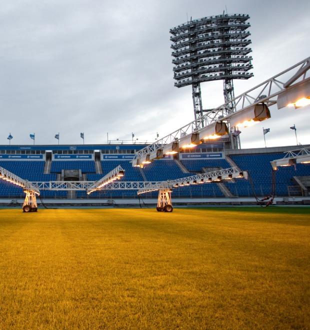 По газону не ходить: Работа агронома на футбольном стадионе