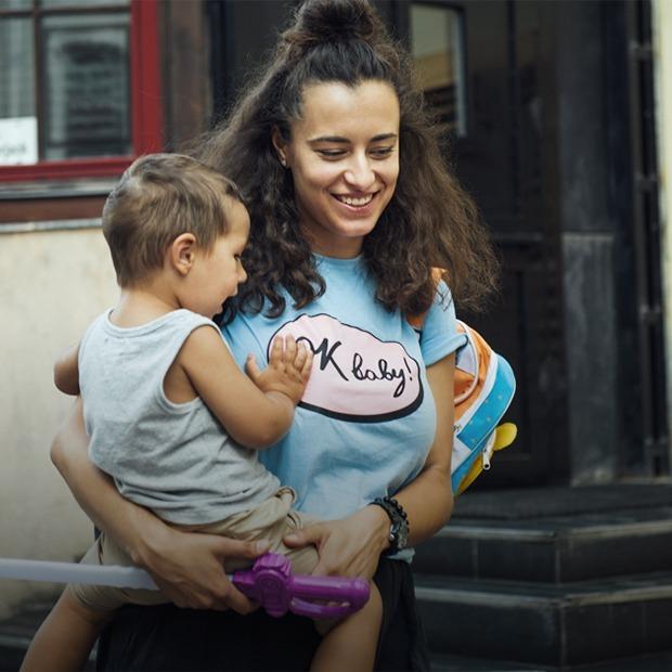 «Самое сложное — уходить от ребенка на работу»: Катя Осовцова — о том, как вести бизнес и быть мамой — Карьера на The Village