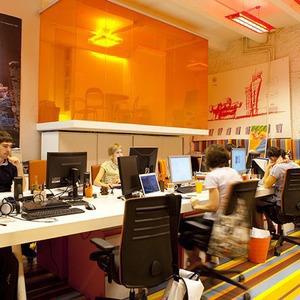 Офис недели (Москва): Pole Design — Интерьер недели на The Village