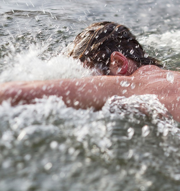 Фоторепортаж: Австралийские «моржи» в Серебряном Бору — Фоторепортаж на The Village