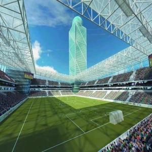 Стадион ЦСКА достроят к концу 2012 года