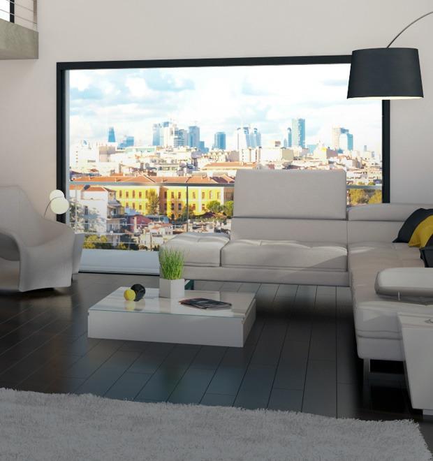 Двухуровневая квартира с «умными» технологиями