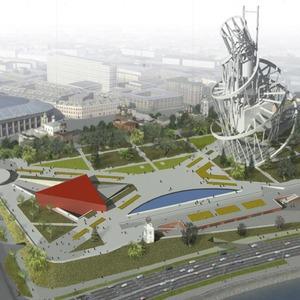 Москомархитектура выбрала 118 проектов парка в Зарядье — Инфраструктура на The Village