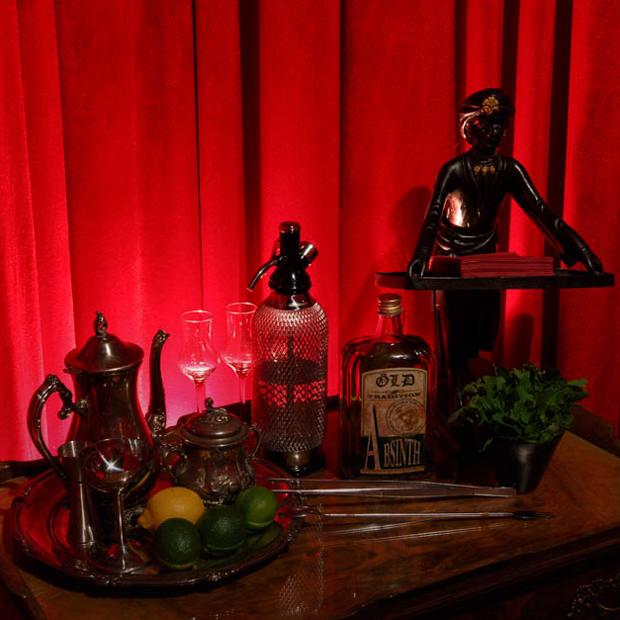 Ар-нуво в особняке: Ibsen Bar  — Место на The Village