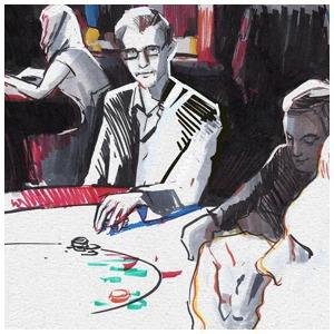 Игра в покер — Клуб рисовальщиков на The Village