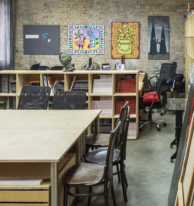 Офис недели (Киев): «Я Дизайн» — Интерьер недели на The Village